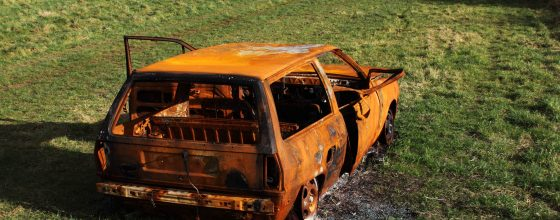 Burned Car – $125