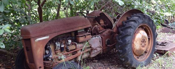 Old Tractor – $250